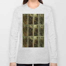 "Alphonse Mucha ""The Moon and the Stars Series"" Long Sleeve T-shirt"