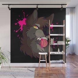 pink goo Wall Mural