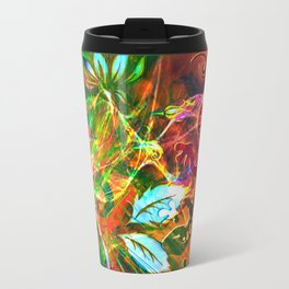 There is no salamander which eventually burns !! Travel Mug