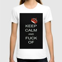 keep calm T-shirts featuring keep calm by laika in cosmos