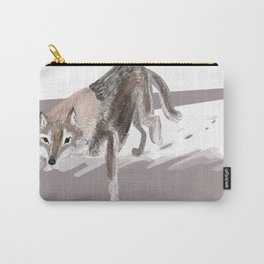Totem Russian Wolf Carry-All Pouch