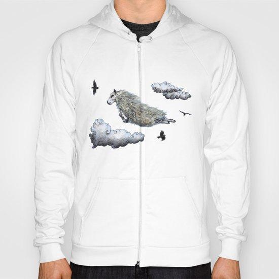 Flying sheep Hoody