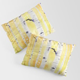 Autumn Birch Pillow Sham