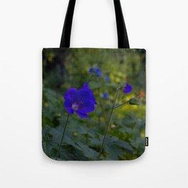 Summer Purple flowers Tote Bag