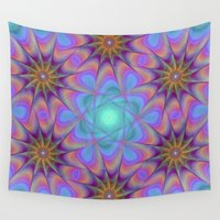 meditation Wall Tapestries featuring Meditation by David Zydd