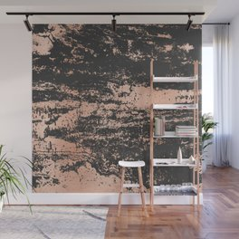 Marble Black Rose Gold - Dope Wall Mural