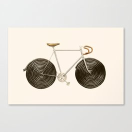 Licorice Bike Canvas Print