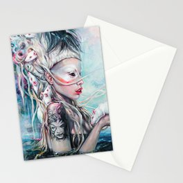 Yolandi The Rat Mistress  Stationery Cards