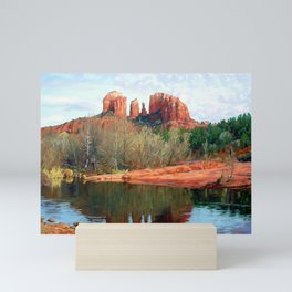Healing Waters of Cathedral Rock Mini Art Print