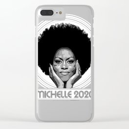 Michelle 2020 Clear iPhone Case