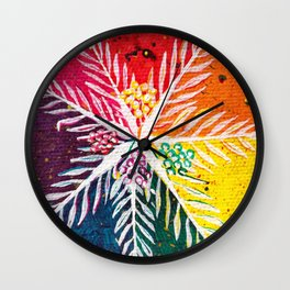 Leaves on the World Tree: The Arab Date Palm Wall Clock