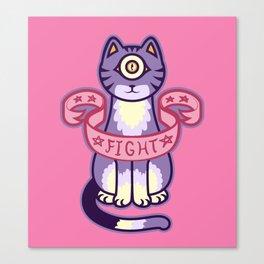 PsyCat Commands You Canvas Print