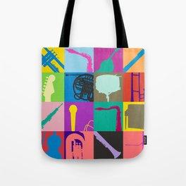 Pop Music Art Tote Bag