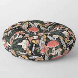 Nocturnal Forest Floor Pillow