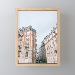 Paris Buildings Framed Mini Art Print