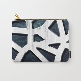 Punctured Forest Carry-All Pouch