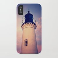 lighthouse iPhone & iPod Cases featuring Lighthouse by JMcCool