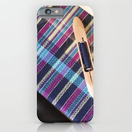 View of the loom iPhone Case