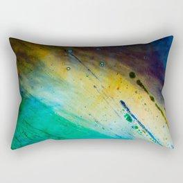 Water and paint texture 1 Rectangular Pillow