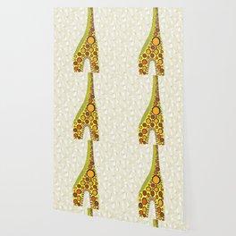 Abstract Giraffe Wallpaper