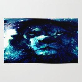 Galaxy Lion Rug