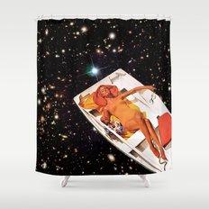 Cosmic Float 2 Shower Curtain