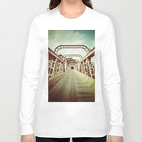 bridge Long Sleeve T-shirts featuring Bridge by César Ovalle