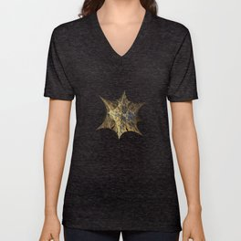3D Fractal Star Unisex V-Neck