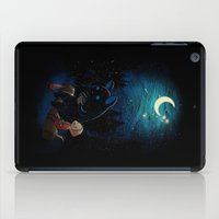dragon ball z iPad Cases featuring Camping 2 by Freeminds