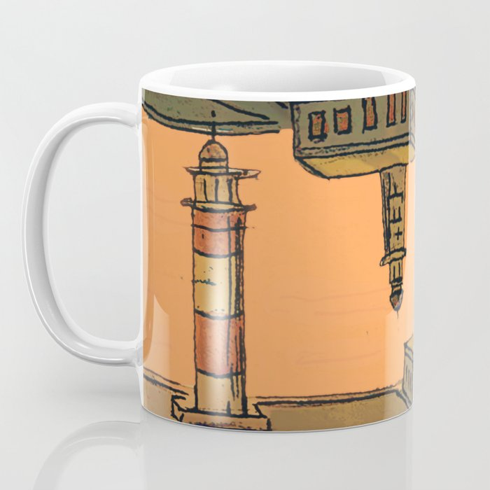 In Love with the Sea / Lighthouses Fuencaliente Coffee Mug