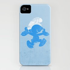 KRAZY BLUE iPhone (4, 4s) Slim Case