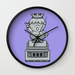 King Pokey Statue - Mother 3 Wall Clock