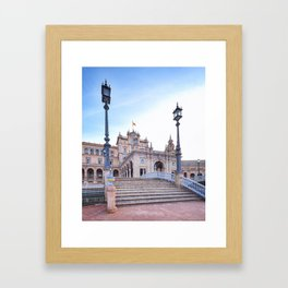 Plaza de España, Sevilla, Spain 5 Framed Art Print