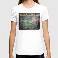 periodic table T-shirts featuring Old School Periodic Table Of Elements - Chalkboard Style by Mark E Tisdale