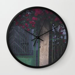 The city of roses #roseopolis2017 (002) Wall Clock