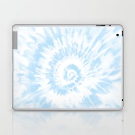 Lighter Ocean Blue Tie Dye Laptop & iPad Skin