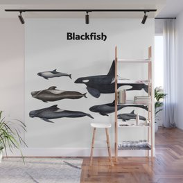 Blackfish Wall Mural