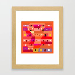 Guatemala City for Beginners Framed Art Print