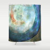 saturn Shower Curtains featuring Saturn by Fernando Vieira