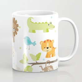 Jungle Animals Coffee Mug