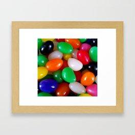 Art of Jelly Beans Framed Art Print