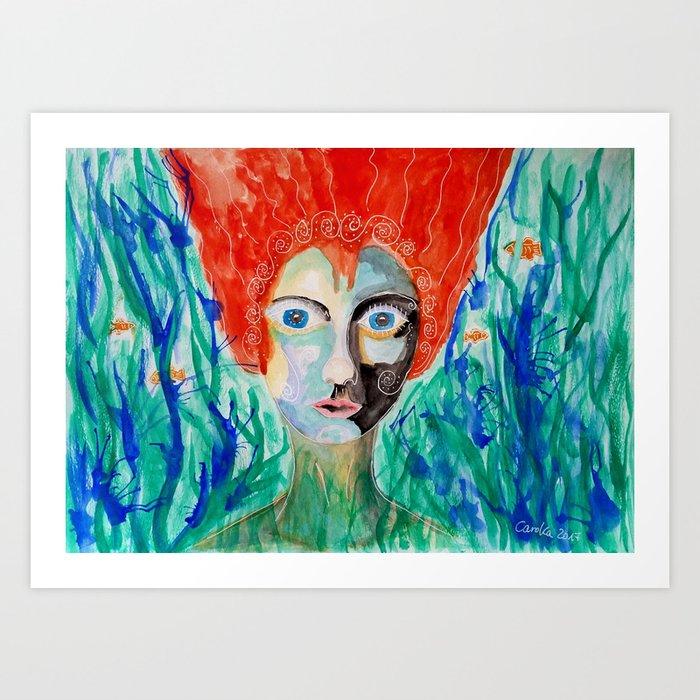 Nixe Kunstdrucke