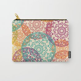 Indian pattern Carry-All Pouch