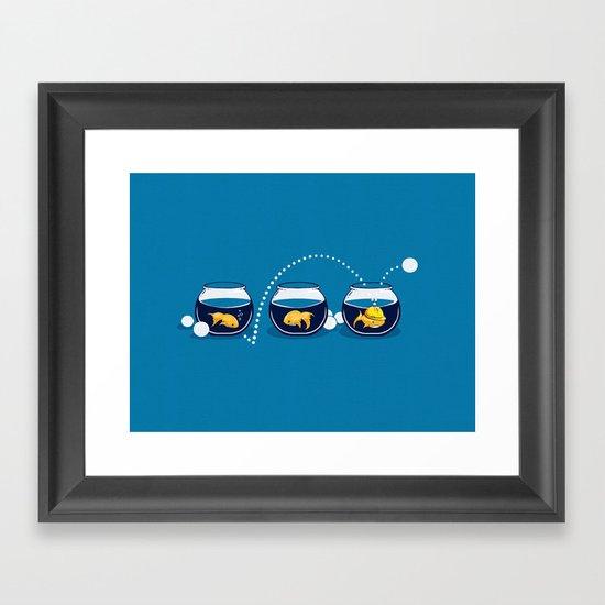Prepared Fish Framed Art Print