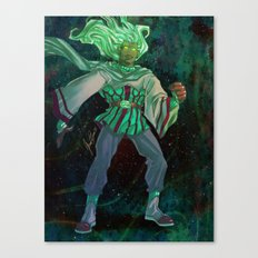 God - The Star Player Canvas Print