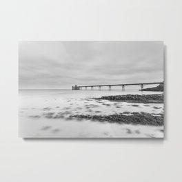 1046259 Clevedon Pier Metal Print