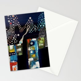 Silver silence Stationery Cards