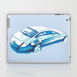Limousine sketch Laptop & iPad Skin