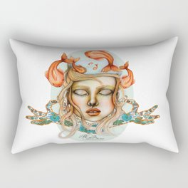 Thoughs like Fishes Rectangular Pillow