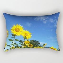 Sunflowers Gisborne NZ Rectangular Pillow